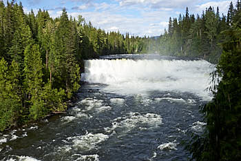 Wells Gray Murtle River<br>NIKON Df, Focale 42 mm, 320 ISO, Vitesse : 1/250 sec, Ouverture f : 11