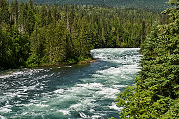 Wells Gray Murtle River<br>NIKON Df, Focale 70 mm, 140 ISO, Vitesse : 1/250 sec, Ouverture f : 8