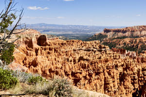 bryce canyon<br>NIKON D200, Focale 20 mm, 100 ISO, Vitesse : 1/250 sec, Ouverture f : 8
